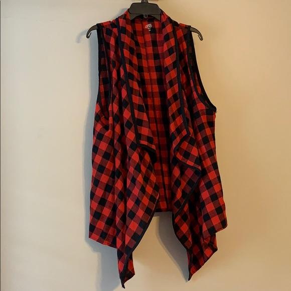 Jackets & Blazers - Buffalo check vest